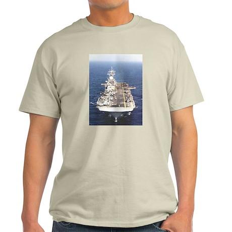 USS Wasp LHD 1 Ash Grey T-Shirt