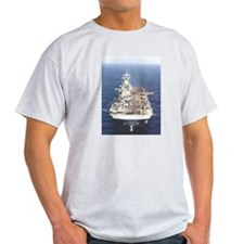 USS Wasp LHD 1 Ash Grey T-Shirt