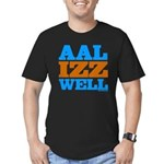 AAL IZZ WELL. Men's Fitted T-Shirt (dark)