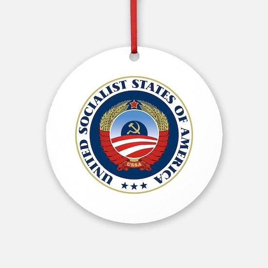 USSA [seal] Ornament (Round)