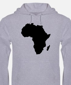 African Continent Jumper Hoody