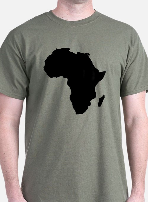African Continent T-Shirt