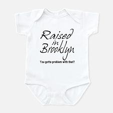 Raised in Brooklyn Infant Bodysuit