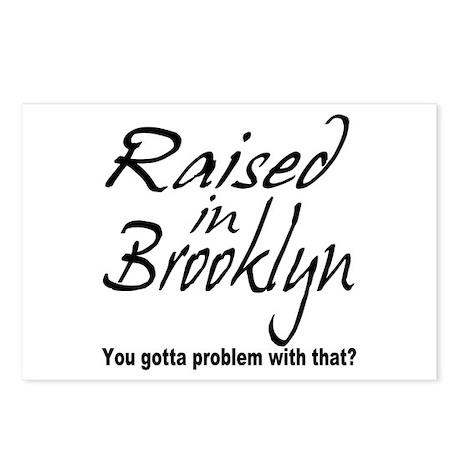Raised in Brooklyn Postcards (Package of 8)