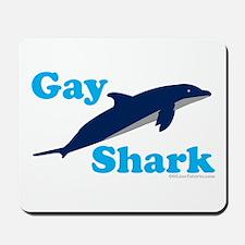 Gay Sharks Mousepad