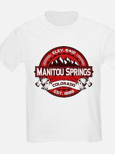Manitou Springs Red T-Shirt