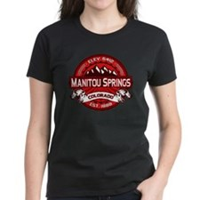 Manitou Springs Red Tee