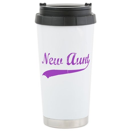 New Aunt Stainless Steel Travel Mug