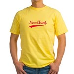 New Aunt Yellow T-Shirt