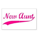 New Aunt Sticker (Rectangle)