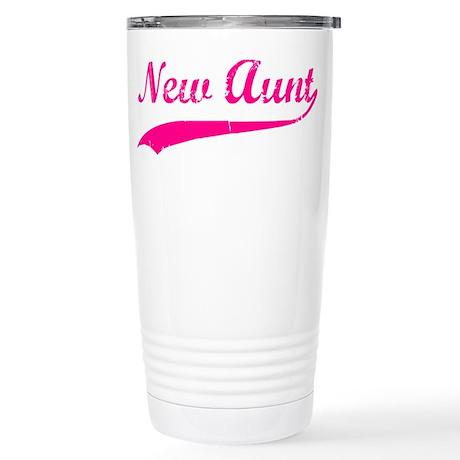 New Aunt Stainless Steel Travel Mug
