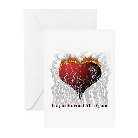 Cupid Burn Greeting Cards (Pk of 10)