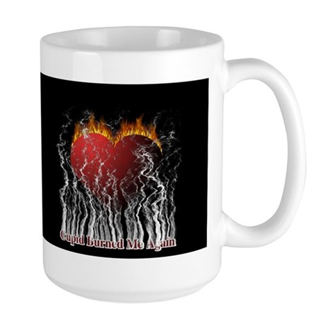 Cupid Burn Large Mug