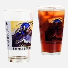 Liberty Buy War Bonds Drinking Glass