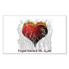Cupid Burn Rectangle Decal