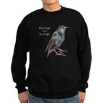 Starlings Are Darlings Sweatshirt (dark)