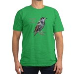 Starlings Are Darlings Men's Fitted T-Shirt (dark)