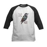 Starlings Are Darlings Kids Baseball Jersey