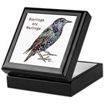 Starlings Are Darlings Keepsake Box