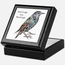 Starlings Are Darlings Keepsake Box