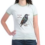 Starlings Are Darlings Jr. Ringer T-Shirt