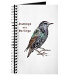 Starlings Are Darlings Journal