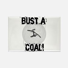 "Bowdrill ""Bust a Coal"" Rectangle Magnet"