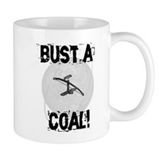 "Bowdrill ""Bust a Coal"" Mug"