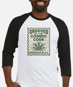 Grooved by the Code Baseball Jersey