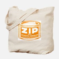 'Orange Zip' Tote Bag