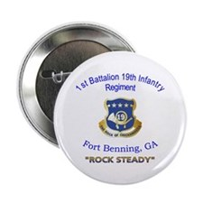 "1st Bn 19th Inf 2.25"" Button"