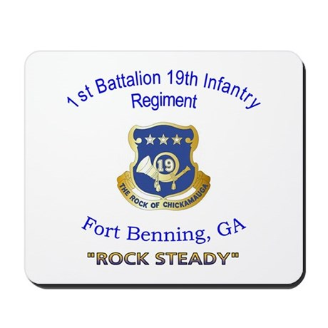 1st Bn 19th Inf Mousepad