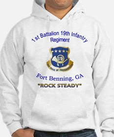 1st Bn 19th Inf Hoodie