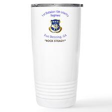 1st Bn 19th Inf Travel Coffee Mug