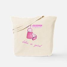 I fight Like a Girl Breast Ca Tote Bag