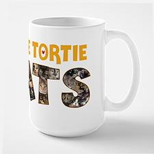 I love Tortie Cats Mugs