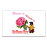 Have a Rock'n Mothers Day Kit Sticker (Rectangle 1