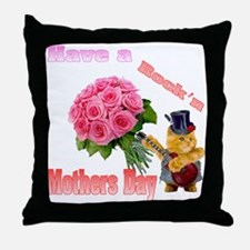 Have a Rock'n Mothers Day Kit Throw Pillow