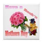 Have a Rock'n Mothers Day Kit Tile Coaster
