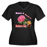 Have a Rock'n Mothers Day Kit Women's Plus Size V-