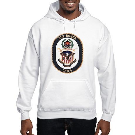 LHD 4 USS Boxer Hooded Sweatshirt