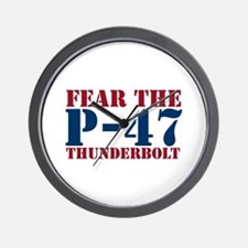 Fear The P-47 Wall Clock