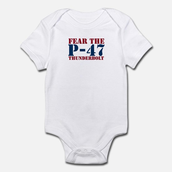 Fear The P-47 Infant Creeper
