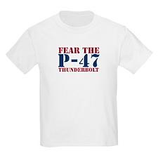 Fear The P-47 Kids T-Shirt