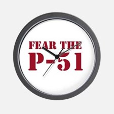 Fear the P-51 Wall Clock