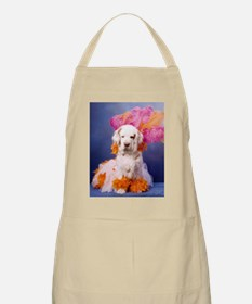 Clumber Spaniel Party Girl Apron