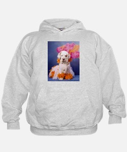 Clumber Spaniel Party Girl Hoodie