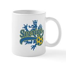 Sverige Soccer Mug