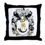 Luke Coat of Arms Throw Pillow