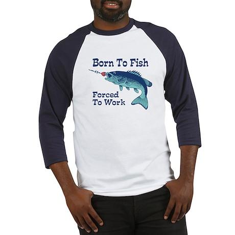 Funny Fishing Baseball Jersey